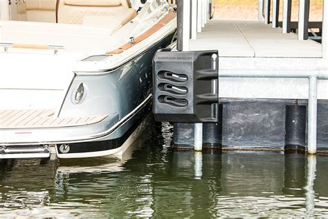 Round Boat Dock Bumpers by Boat Dock Protection Boat Lift