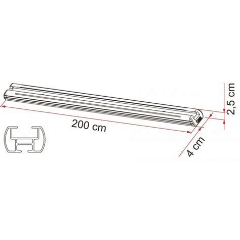 rangement soute fiamma barre de fixation garage bar top accessoires