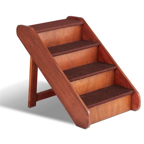 Pet Stairs For Beds by Solvit Pupstep Large Wood Pet Stairs Petco
