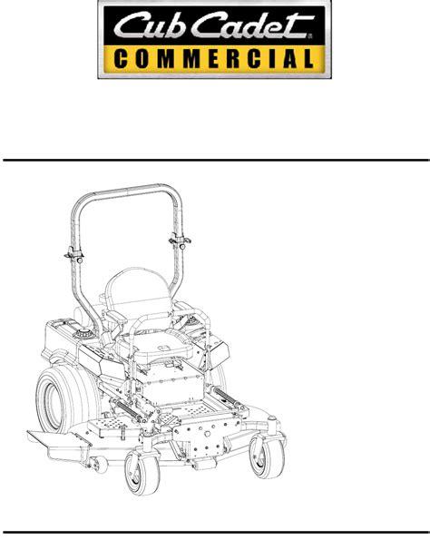 cub cadet lawn mower 48 inch 54 inch 60 inch 72 inch user