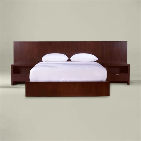 bed with side panels modern beds by