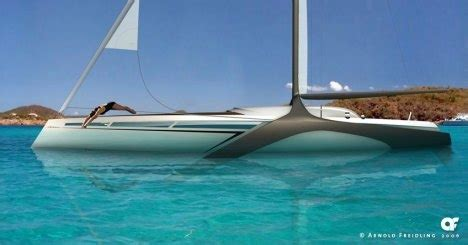 What Does Hydrofoil Boat Mean by Explorious Hydro Foil Yacht Looks Like A Dream Gearfuse
