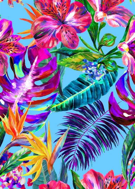 51 Best Tropical Prints Images On Pinterest Wallpapers