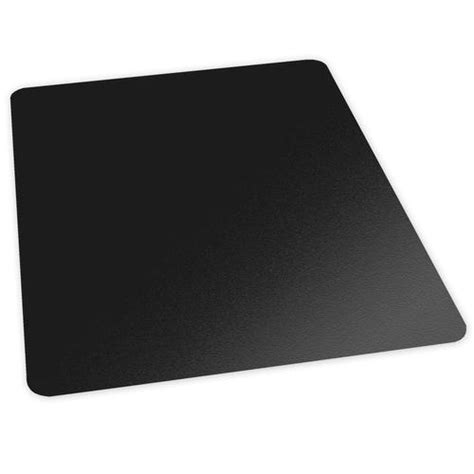 es robbins 174 trendsetter black chair mat for carpet at