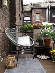 Kleine Wäschespinne Für Balkon : mit diesen tipps wird ein kleiner balkon zur stadtoase craftifair ~ Markanthonyermac.com Haus und Dekorationen