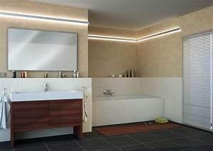 Lampen Spots Badezimmer : led beleuchtung im bad wellness im badezimmer mit led strips paulmann licht gmbh ~ Markanthonyermac.com Haus und Dekorationen