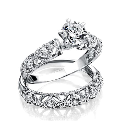 925 Silver Vintage 75ct Round Cz Engagement Wedding Ring Set. Elongated Rings. 10 Carat Engagement Rings. Opalescent Engagement Rings. Escudero Engagement Rings. Sideways Cross Wedding Rings. Girl Name Wedding Rings. Gray Rings. Paisley Wedding Rings