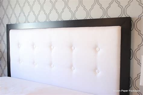 black white diy headboard bppackages photos