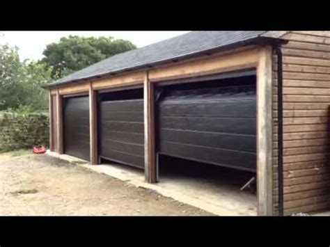 Automatic Hormann Sectional Garage Doors Youtube