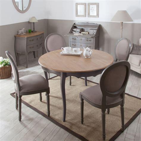 table a manger rallonge ronde en inspirations avec table de salle a manger avec rallonge en bois