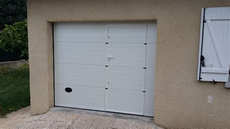 porte de garage sectionnelle 40 mm sur mesure en kit 224 motoriser