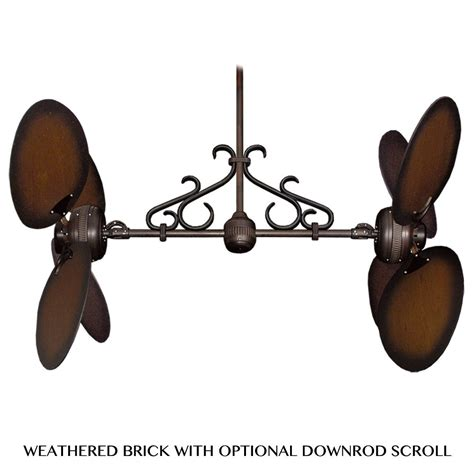 ii dual motor ceiling fan by gulf coast fans