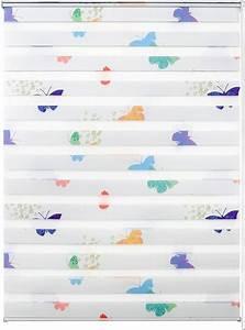 Kinderzimmer Gardinen Schmetterling : doppelrollo nach ma leni good life lichtschutz ohne bohren freih ngend rahmenmontage 1 ~ Markanthonyermac.com Haus und Dekorationen