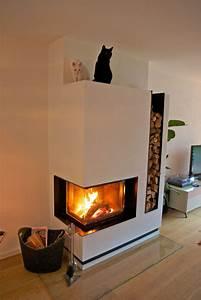 Holz Für Kamin : moderner heizkamin kamin ofenmodern fireplace heizkamine modern ~ Markanthonyermac.com Haus und Dekorationen