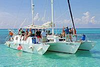 Private Catamaran In Cozumel by Private Catamaran Charters For Groups In Cozumel Mexico