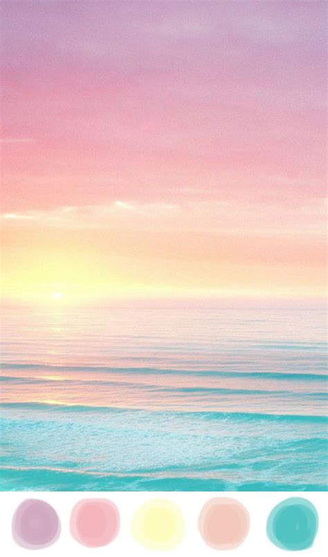 Candy Color Sunset  Color Pop + Posies Pinterest
