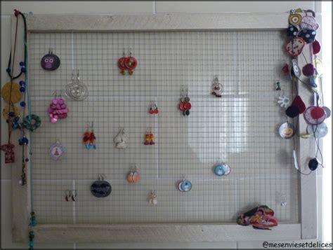 cadre 224 boucles d oreilles porte bijoux le de petitescreas