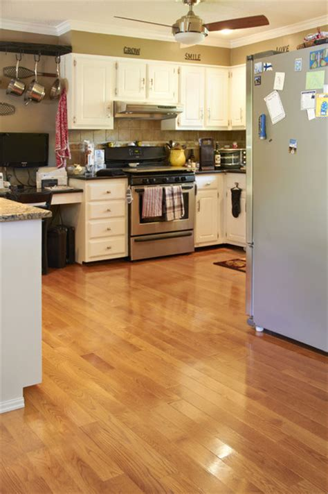 oak gunstock stain traditional kitchen other