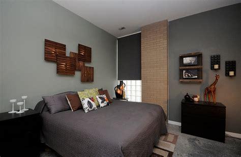 Transitional Bedroom Design With Mens Bedroom Wooden