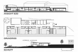 Grundriss Schnitt Ansicht : kindergarten forchtenstein hrabal architektur ~ Markanthonyermac.com Haus und Dekorationen