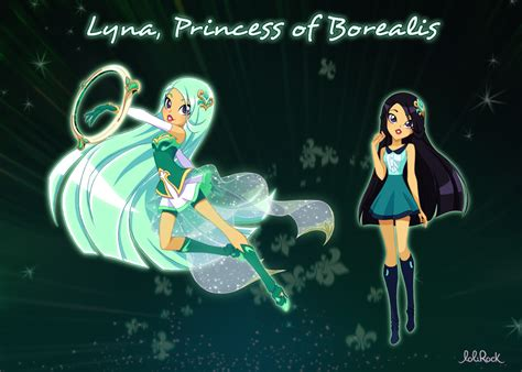 Magic Lolirock Official Lyna & Carissa Character Sheets