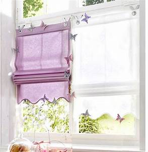 Haken Für ösen Gardinen : 1 st raffrollo 80 x 140 lavendel baumwolle rollo blickdicht sen haken neu ebay ~ Markanthonyermac.com Haus und Dekorationen