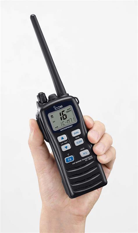 Boat Hand Radio by Marine And Boat Radio Systems Coastal Communications Uk