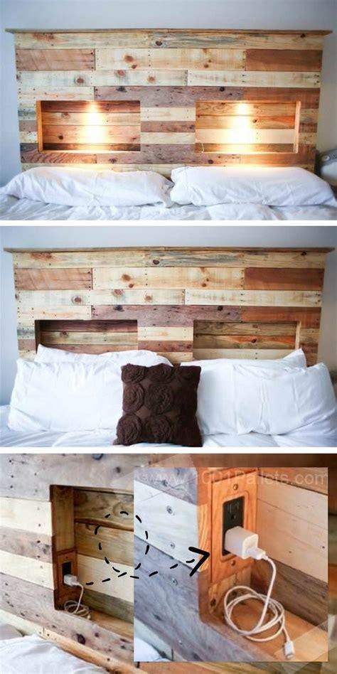 tete de lit avec lumiere integree coudec