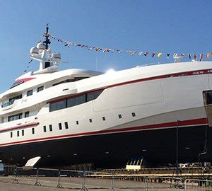 Whispering Angel Boat Owner by Video From Launch Of 54m Isa Motor Yacht Forever One
