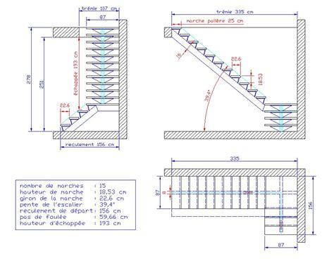 longueur d un escalier maison design hompot