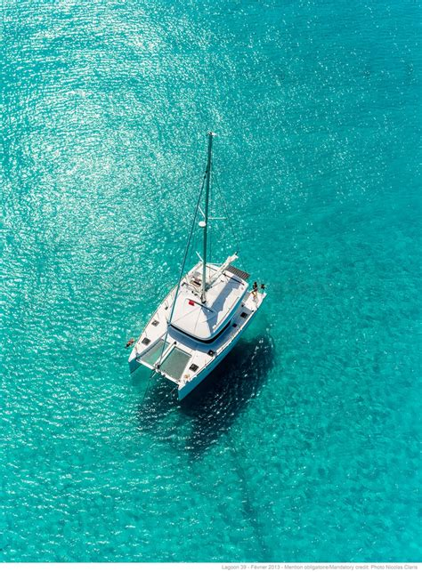 Catamaran In Greek Islands by Lagoon 39 Catamaran Sailing The Greek Islands Greece