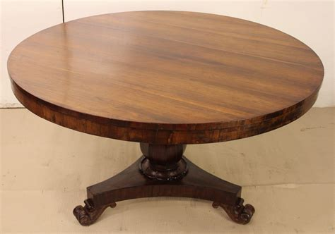 Victorian Round Rosewood Dining Or Breakfast Table La