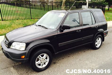 2001 Left Hand Honda Crv Black For Sale