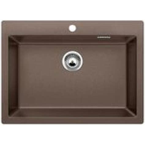 blanco pleon 8 silgranite single bowl sink no drainer coffee