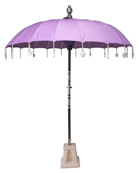 lilac garden sun umbrella by indian garden company notonthehighstreet