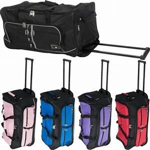 Reisetasche Auf Rollen : xxl reisetasche mit 2 rollen miami jumbo trolley sporttasche 90l trolly tasche ebay ~ Markanthonyermac.com Haus und Dekorationen