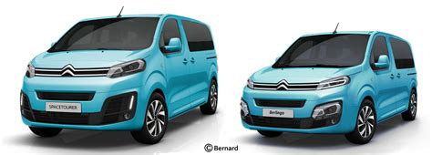 BERNARD CAR DESIGN 2018 Citroen Berlingo, Peugeot Partner
