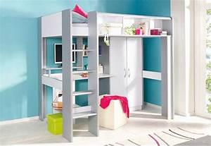 Kinderbett Mit Schreibtisch Und Kleiderschrank : bett mit schrank und schreibtisch haus planen ~ Markanthonyermac.com Haus und Dekorationen