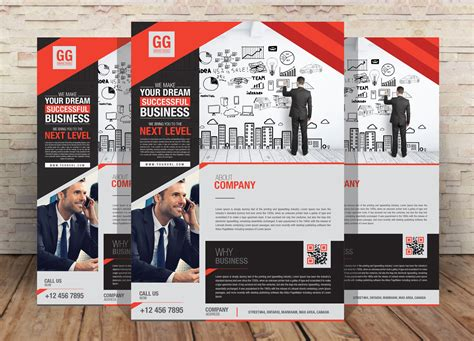 Free Business Flyer Design Template For Your Corporate