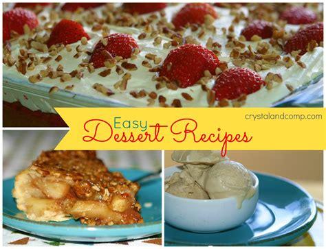 dessert recipes easy recipes