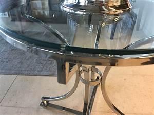 Tisch Glas Metall : tisch rund glas metall runder glastisch durchmesser 65 cm ~ Markanthonyermac.com Haus und Dekorationen