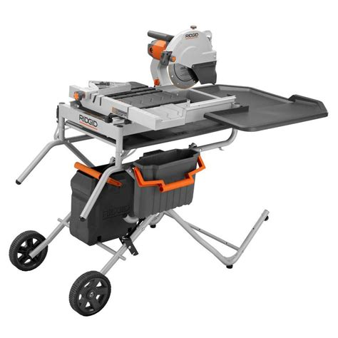 tile saw workforce thd550 the home depot community
