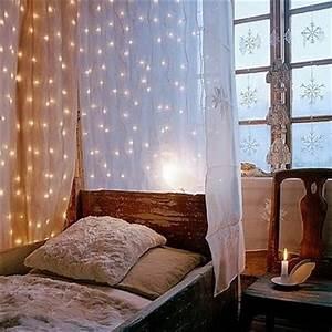 Vorhang über Bett : winternachtstraum sweet home ~ Markanthonyermac.com Haus und Dekorationen