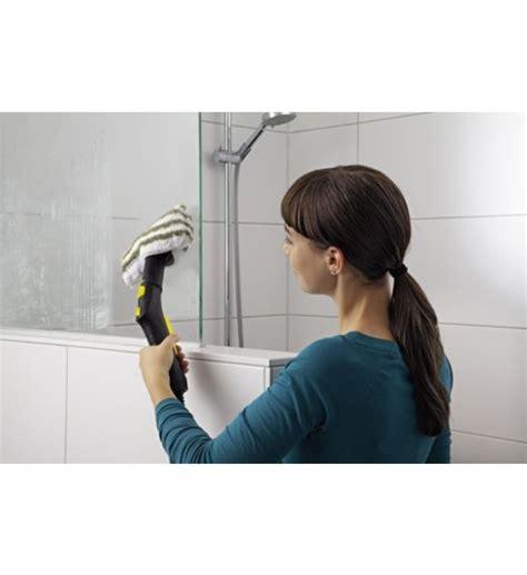 accessoire nettoyeur vapeur karcher set de nettoyage pour la salle de bain karcher galeries