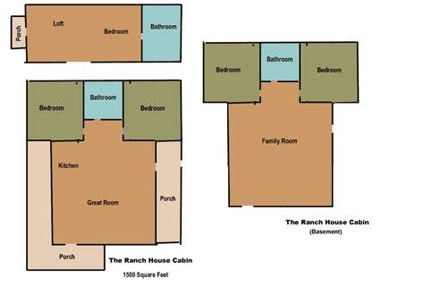 log home floor plan ponderosa the ranch house zion vacation home rental zion ponderosa