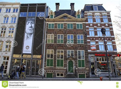 Museum Amsterdam Rembrandt by Rembrandt House Museum In Amsterdam Netherlands