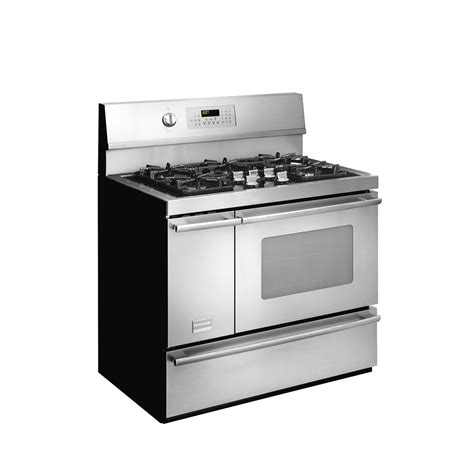 frigidaire dual fuel gas range 40 in cu ft fpdf4085kf sears