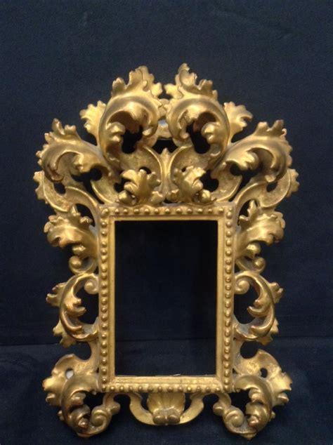 petit cadre bois dor 233 sculpt 233 en tilleul italien d 233 b xxe si 232 cle style baroque cadres anciens