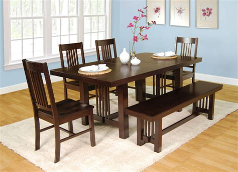 5 Dining Room Set With Bench by 26 Big Small Dining Room Sets With Bench Seating