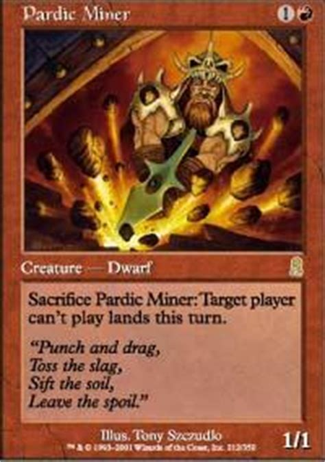 destroy land magic the gathering deck